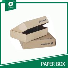 Caja de embalaje de cartón Kraft personalizada