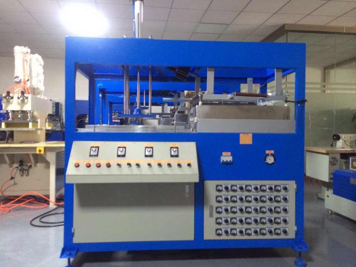 Single blister forming machine