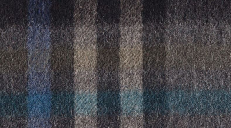 80% Wool 20% Cashmere Scarf -7