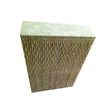 Tablero de aislamiento de lana de roca para pared exterior