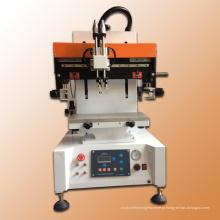 Tela plana seda pequena máquina automática de impressão
