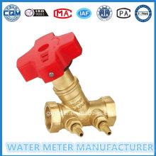 Medidores de água Válvulas de balanço de latão (Dn15-40mm)