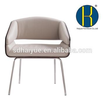 Sillas de sala de estar al aire libre populares de la silla del hotel de la madera contrachapada HY3010 con cuatro piernas fuertes