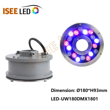 DMX RGB Color Led Fountain Ring Light