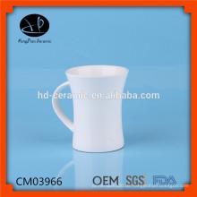Plain Keramik Tassen mit benutzerdefinierten Logo