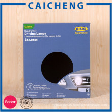 Custom logo corrugated paper box packaging for lights