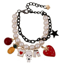 Fashion Summer bracelet colorful charms bracelet pearl bracelet china wholesale