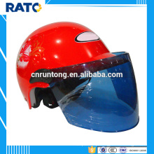 Motocicleta de capacete de meia face de verão quente