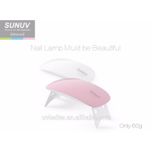 Factory SUNUV SUNMINI2 portable and foldable led gel nail lamp for personal nail beauty salon