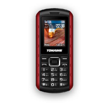 Téléphone robuste imperméable double-SIM de 1,77 pouce avec IP67 et CE