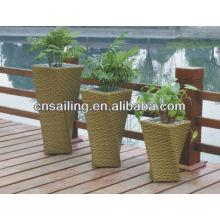 New Style Wicker Flower Pots
