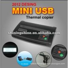 2016 hot sale small mini tattoo thermal copier machine
