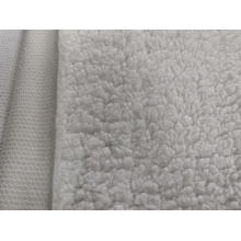 100% Polyester Sherpa Fleece grand tissu anti-boulochage