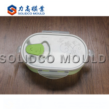 High Quality Plastic Injection Lunch Box Mold Maker
