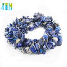 Material natural de 100% Lapis Lazuli nenhuma raiz de microplaqueta das pedras preciosas da síntese