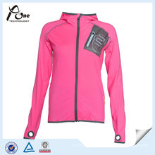 Women Hoodie Fitness Shirt Custom Private Label Fitness Wear