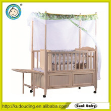 Approved baby wooden bed