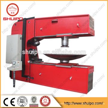 Machine de filage de tête de Dished, machine de polissage de tête de plat d'acier inoxydable, réservoir elliptique de réservoir de récipient à pression