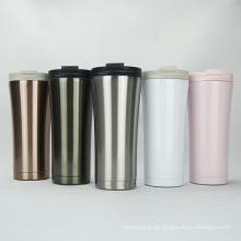Copo de café de parede dupla com isolamento a vácuo