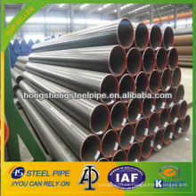 ASTM A106 GB Tubo de acero al carbono ERW