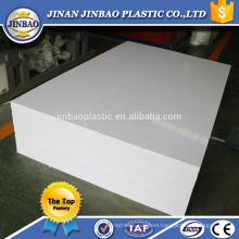 Jinbao plastic factory 3mm 5mm 8mm color grey rigid pvc board