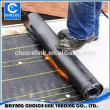 Bituminous APP modified torch applied floor waterproof membrane