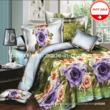 100% Polyester Microfiber Printed Fabric for Bed Sheet