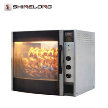 CE Heavy Duty Industrial 3-Layer 6-Layer Electric Chicken Rotisserie Oven