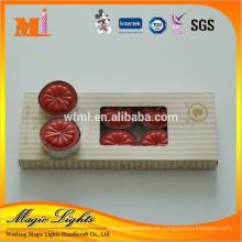 Box-verpackt Red Tealight Kerzen in Aluminiumbecher