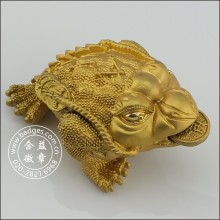 Decoração da caixa do sapo do ouro 3D, mascote feita sob encomenda (GZHY-HD-081)