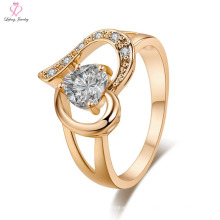Saudi-Arabien Engagement Hochzeit 24k Schmuck Gold Ring