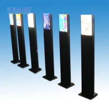 double sided led advertising outdoor light box road guidepost for parking lot