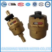 Medidores de fluxo de água volumétricos do material de cobre (DN15 - DN20)