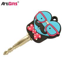 Pvc factory maker key cover,Promotion soft pvc cute key caps
