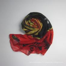 Nouvelle écharpe femme polyester