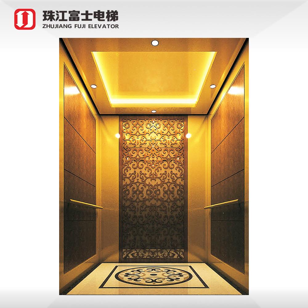 Zhujiang FUJI Passenger Lift High Level Automatic Passenger Elevator For Tall Building
