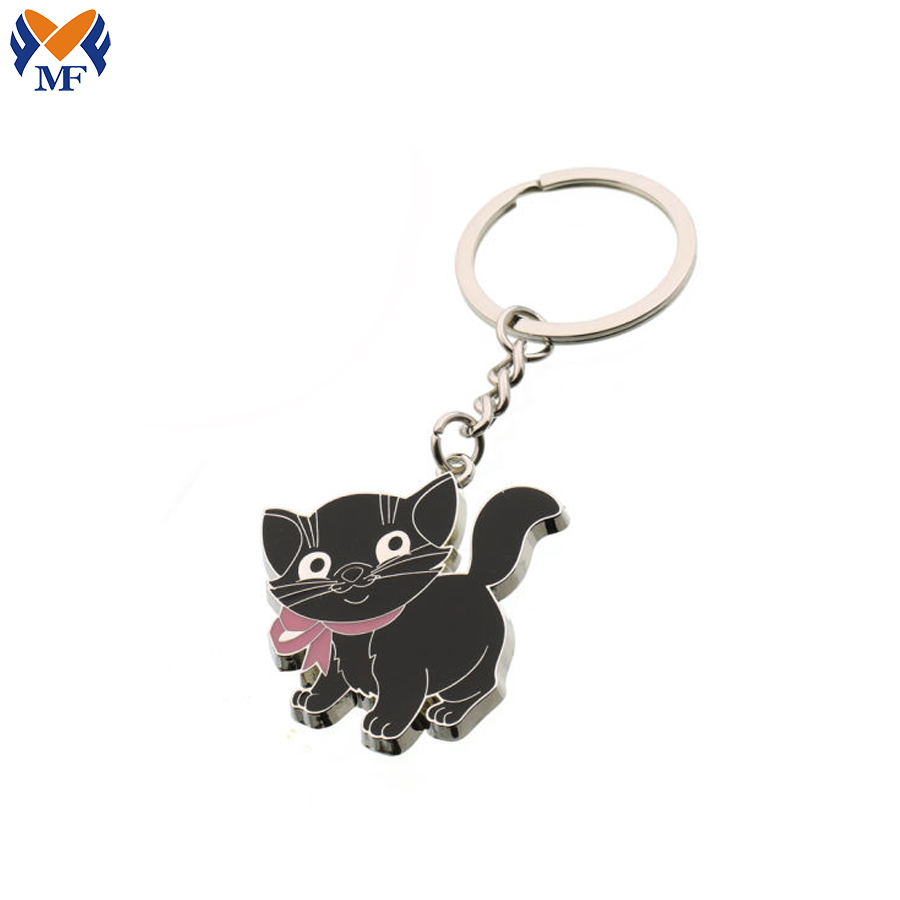 Keychain Black Cat