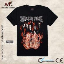 Tatuagem flamejante do demónio T100298 Camiseta