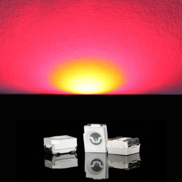 Superljus 3528 SMD LED Red Epistar Chip