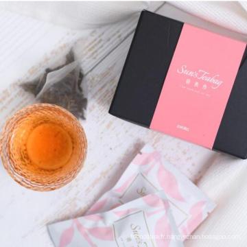 Sac de thé noir bio de beauté du Yunnan