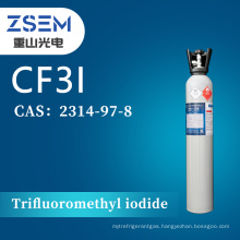 Trifluoromethyl iodide CAS2314-97-8 99.99% 4N CF3I High Purity for Semiconductors erching process materials
