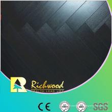 Plancher en stratifié de Hickory de relief commercial de 12.3mm AC4
