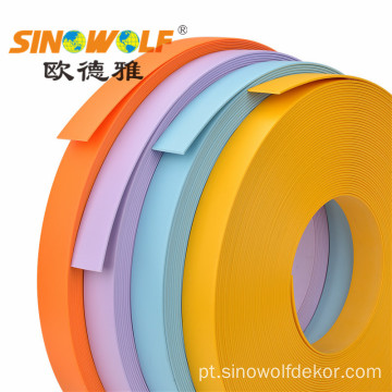 Série contínua da borda de borda do PVC