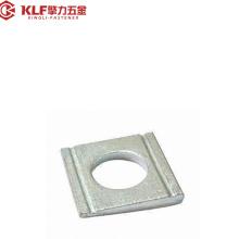 Arruelas de cimento quadradas de aço carbono, DIN434