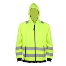 Зимняя полоса Желтая светоотражающая униформа безопасности