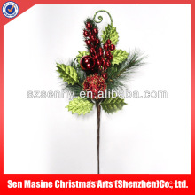 Luxury wholesales Decorative christmas picks fruit