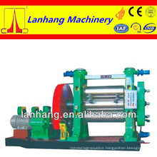 high quality and best service continuous current dynamo three-roller rubber calender