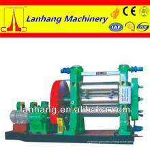 Alta qualidade e melhor serviço de dinamômetro contínuo de três rolos calandra de borracha