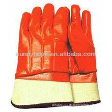 Schaumisolierte PVC-Handschuhe