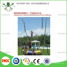 Outdoor Small Inlatable Bungee Trampoline for Kids